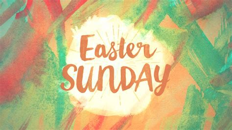 image gallery easter sunday