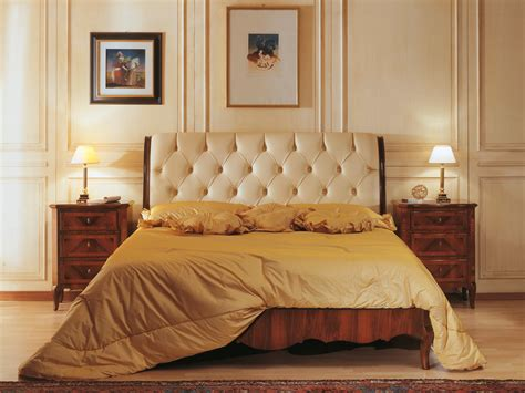 signorini cornici classic luxury 19th century bedroom bed in