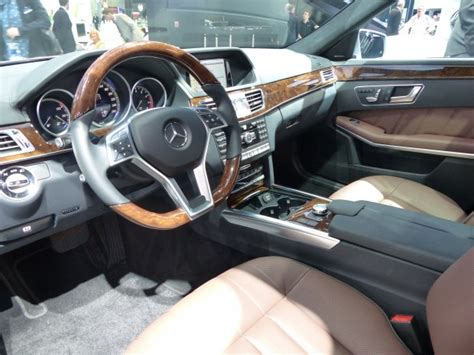 E Class 2014 Interior by The 2014 Mercedes E Class Family On Display At The Detroit Auto Show