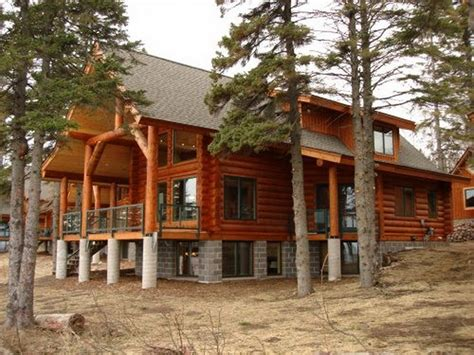 Luxury Modular Home Sales Wooden Home Brand New Luxury Lake Superior Log Home Vacation Rental