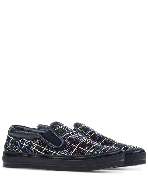 agl shoes agl attilio giusti leombruni rhinestone embellished slip
