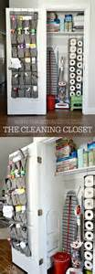 How To Organize A Utility Closet by Cleaning Tips Diy Cleaning Closet The 36th Avenue
