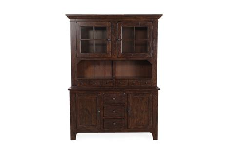 Broyhill Dining Room Hutch broyhill attic rustic oak china with hutch mathis