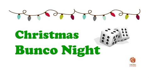 cotn fl christmas bunco night children of the nations