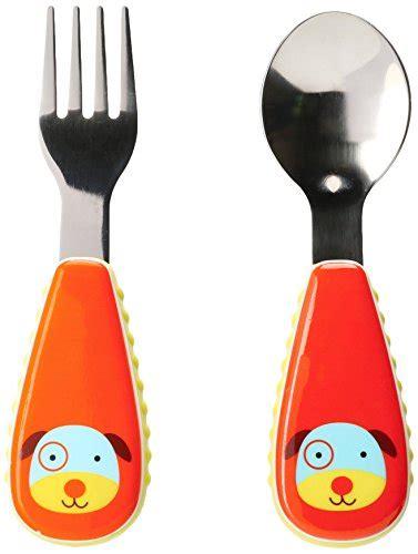 Zootensils Kid Fork Spoon Hedgehog skip hop baby zoo kid and toddler fork and spoon utensil set multi darby buy
