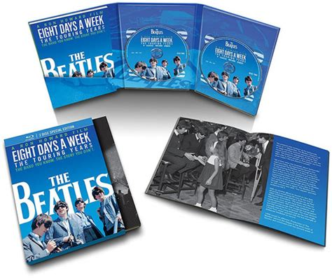 the the deluxe edition year two the beatles eight days a week the touring years 2 disc
