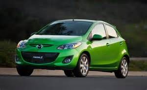 2011 mazda 2 touring automatic instrumented test car