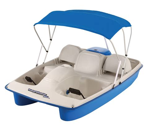 sun slider 5 person pedal boat with canopy sun dolphin 5 person sun slider pedal boat with canopy