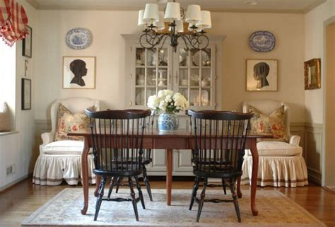 Dining room decorating ideas classic colonial style living room
