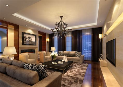 living room living 3d model cgtrader