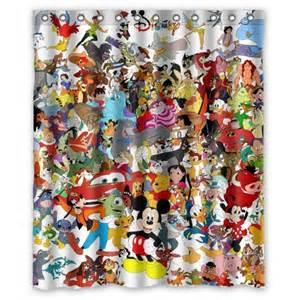 Mickey Mouse Bedroom Curtains disney shower curtain 600x600 jpg