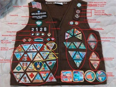 quest placement pattern 17 best images about girl scout brownies on pinterest