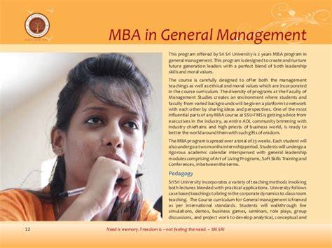 Fms Executive Mba Placements by Prospectus Mba Fms Sri Sri
