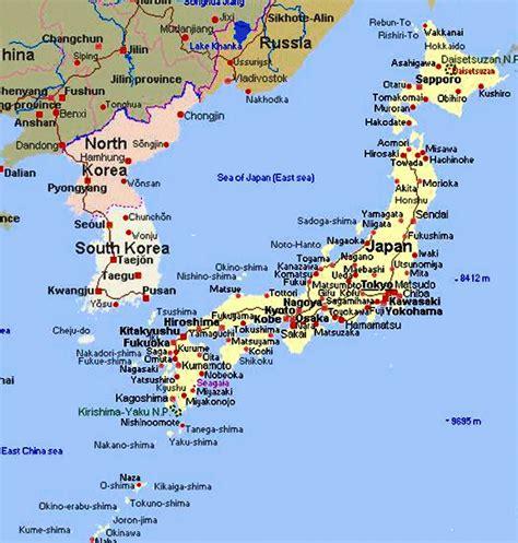 is or japanese landkaart