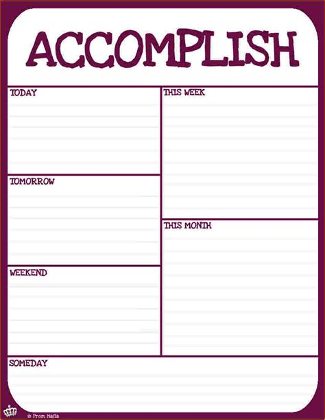 list of things to do template list of things to do template
