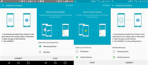 how to use android how to use samsung smart switch android central