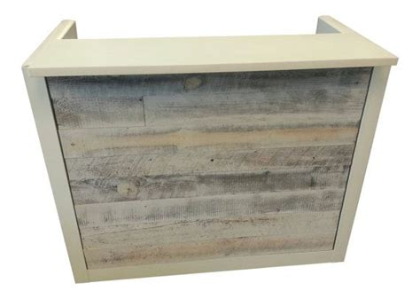 reclaimed wood front desk 25 best ideas about small reception desk on