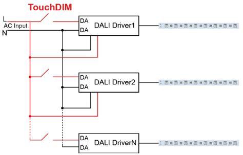 dali lighting wiring diagram on dimming dali get