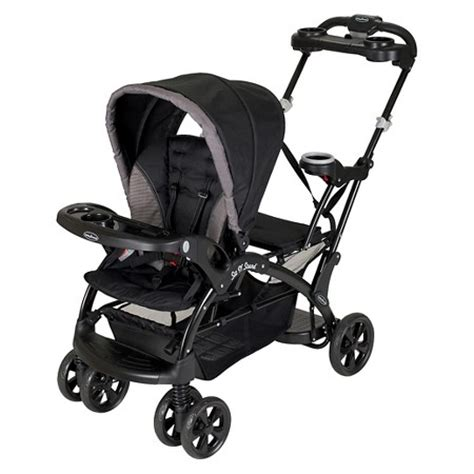 strollers target baby trend sit n stand ultra stroller chrome target