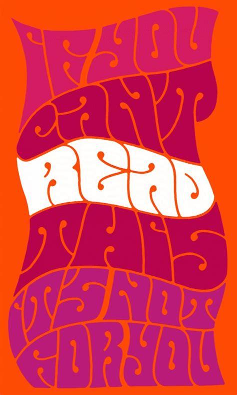 psychedelic psychedelic typography psychedelic design