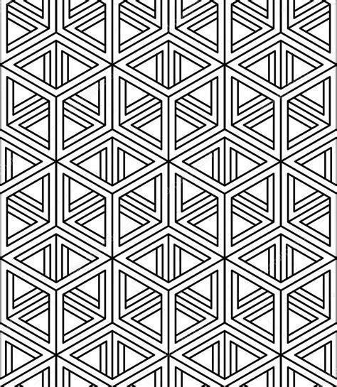 figuras geometricas vector patr 243 n con figuras geom 233 tricas 3d vector de stock