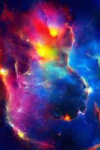 galaxy colors trippy space galaxy purple