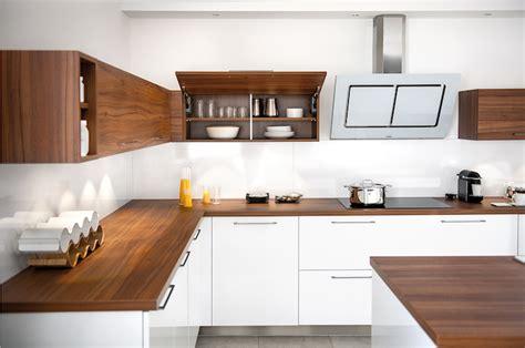 Cuisine Avec Plan De Travail Bois by 1001 Conseils Et Id 233 Es Pour Am 233 Nager Une Cuisine Moderne