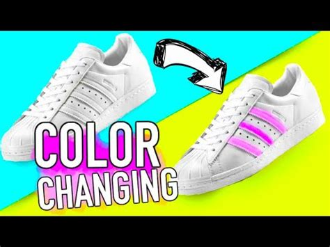 adidas color changing shoes diy color changing shoes diy ideas you need to try