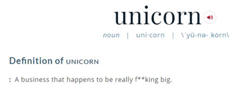 born unicorn meaning a layman s guide to silicon valley s unicorns huffpost