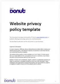 credit card privacy policy template sle website privacy policy template techdonut