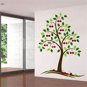 Wall Stickers Tree Wall Decals Beautiful Cherry Tree Wall Stickers