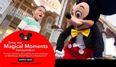 Parents Magazine Sweepstakes - parents magazine magical moments sweepstakes sweepstakesbible