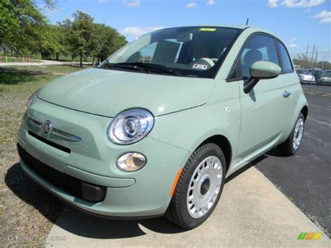 verde chiaro light green 2012 fiat 500 pop exterior