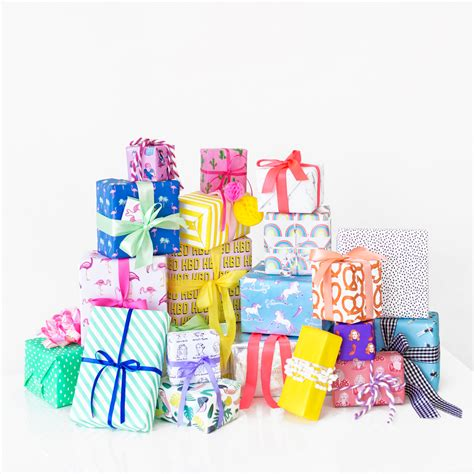for gifts six awesome birthday gift wrap pairings studio diy