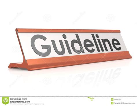 Table Tag Guideline Table Tag Stock Photo Image 31936370