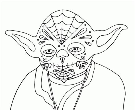 yoda printable coloring pages az coloring pages