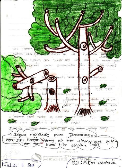 contoh puisi lingkungan hidup informasi terbaru