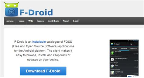 f droid apk free 17 android app store alternatives to play store