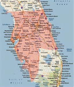 central florida west coast map