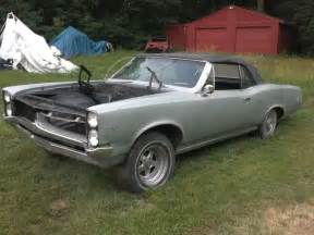 1967 Pontiac Convertible For Sale 1967 Pontiac Lemans Convertible To Restore To Gto