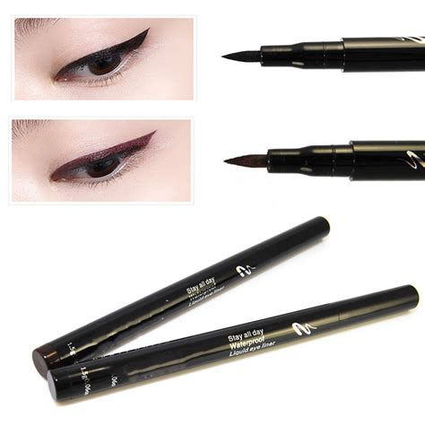 Eyeliner Liquid Pen 1pcs pro makeup tool black brown liquid eyeliner