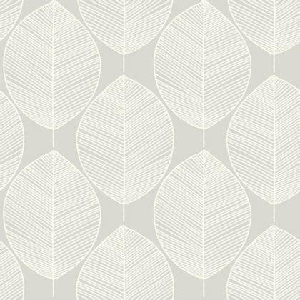 wallpaper grey homebase arthouse retro leaf wallpaper silver at homebase be