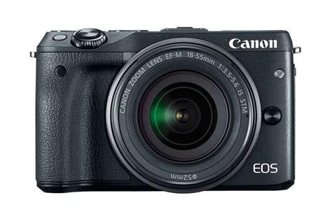 Canon Eos M3 Kit canon eos m3 ef m18 55mm is stm kit black