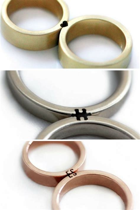 Wedding Ring With Wedding Band by Best 20 Wedding Bands Ideas On