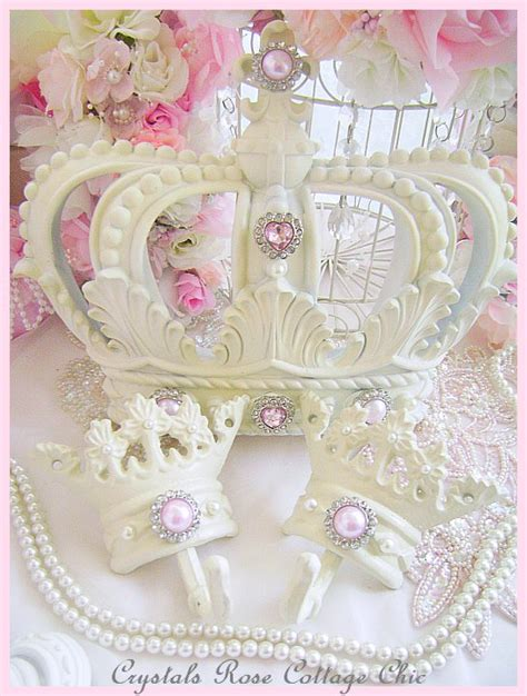 shabby chic bed crown www crystalsrosecottagechic 169 website design by