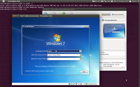 imagenes para virtual box instalar windows en ubuntu 11 04 con virtualbox quasarcr