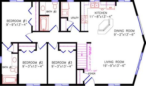 Cabin Plans With Basement cottage