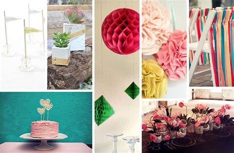 diy wedding decorations decoist