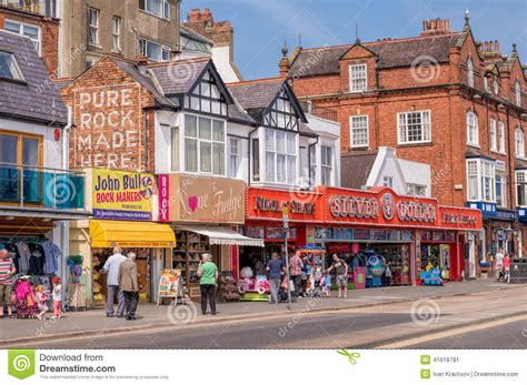 scarborough north yorkshire england editorial photo