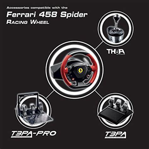 Buy Thrustmaster Spider Racing Wheel Thrustmaster 458 Spider Racing Wheel For Xbox One